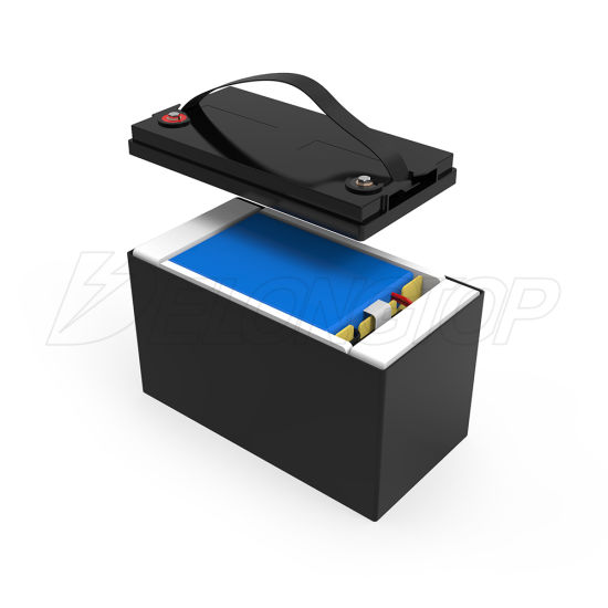 Lithium Bateria Akku Marine LFP Battery LiFePO4 Cell 12V 100ah for Solar System
