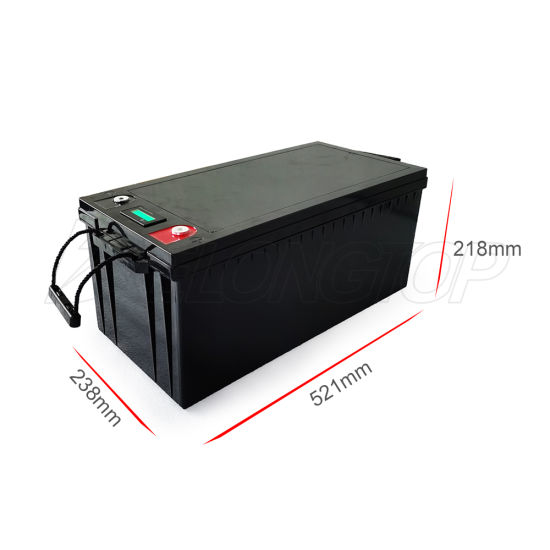 Lithium Ion Solar Battery 12V 200ah LiFePO4 Battery Pack with BMS