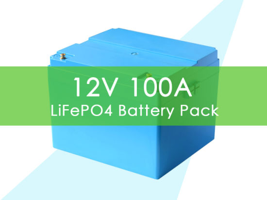 5 Years Warranty Deep Cycle 12V 100ah LiFePO4 Lithium Ion Battery with BMS