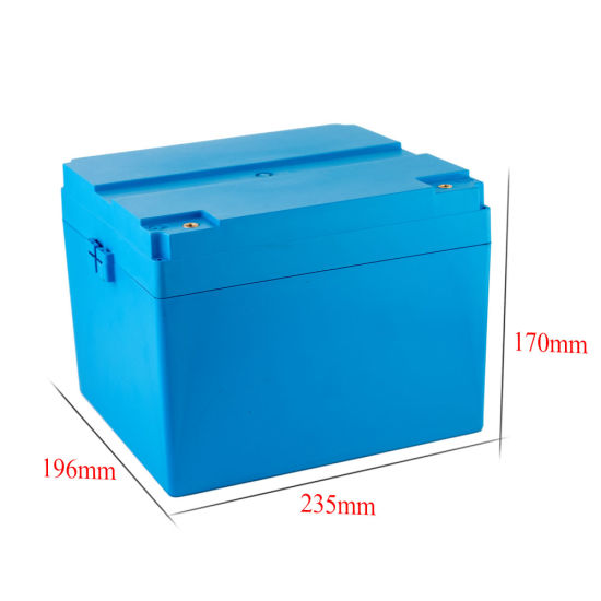 12V 100ah Marine Battery Deep Cycle Rechargeable LiFePO4 Battery for RV Boat