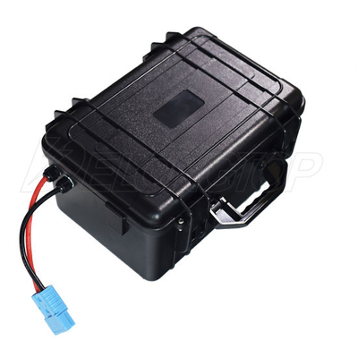 Deep Cycle Waterproof 24V 100ah LiFePO4 Lithium Battery BMS 8s for Solar System Vehicle Boat