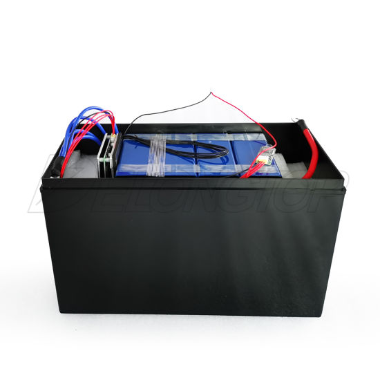 Lithium Ion Battery 12V 100ah LiFePO4 Battery Pack with BMS/ LED Indicator for Solar Energy Storage