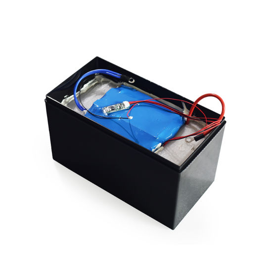 China Factory Rechargeable Free Maintenance Lithium Ion LiFePO4 12V 75ah Battery