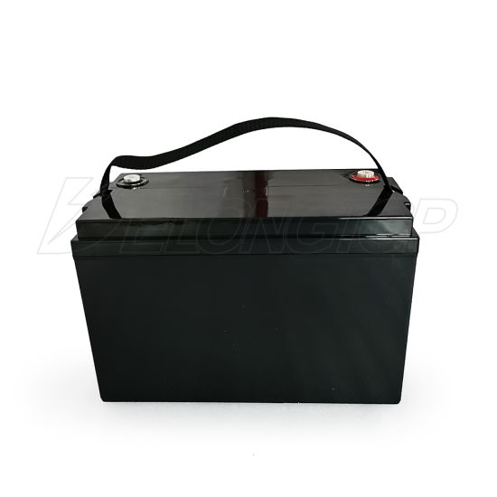 Deep Cycle LiFePO4 Solar Battery 12V 100ah Golf Cart Lithium Ion Battery