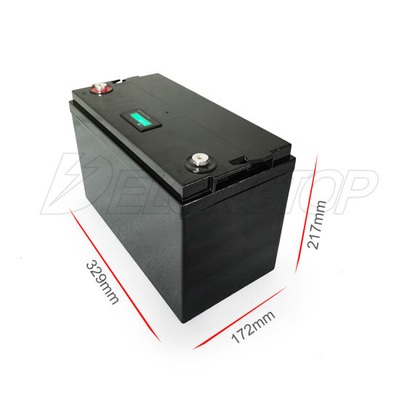 Ce MSDS Approved Lithium 12V 100ah LiFePO4 Battery Pack with BMS for RV / Car / Camper /Solar / Boat