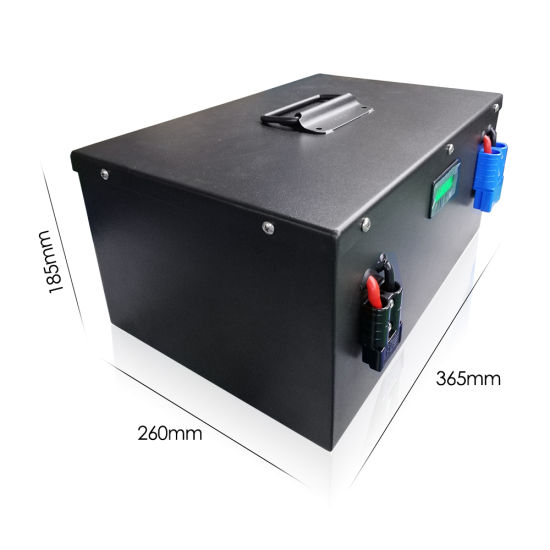 24V 100ah LiFePO4 Battery for Solar Storage RV/Camper Marins off Grid Applications Rechargeable Battery Built-in BMS