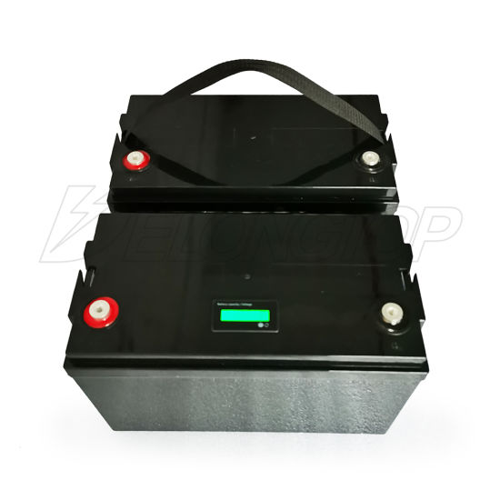 Rechargeable 12V 100ah Lithium Iron Phosphate Battery with BMS