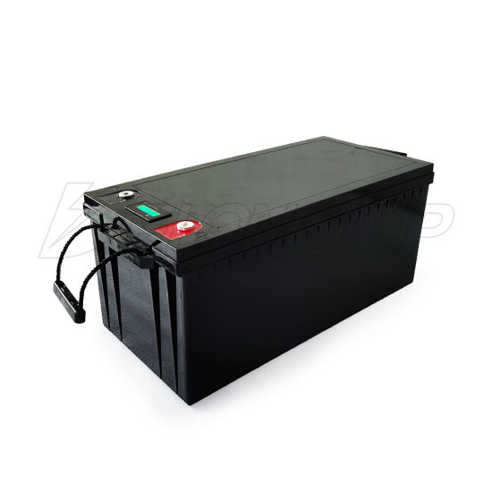 Delong 12V 100ah BMS LiFePO4 Lithium Iron Phosphate LFP Battery for Outdoor Solar System, Motor Room, RV