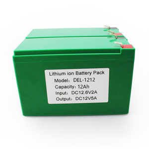 12V/24V Top Quality Solar Light Lithium Battery Pack