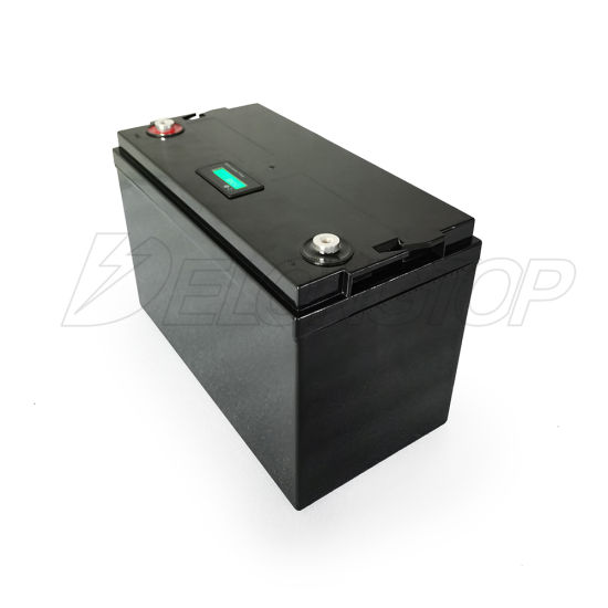 12V 100ah Rechargeable LiFePO4 Battery Pack 100A Solar Energy