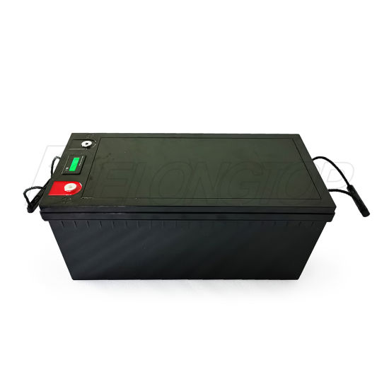 Ce MSDS Un38.3 Approve Lithium Ion Solar Deep Cycle 12V 200ah LiFePO4 Battery Pack