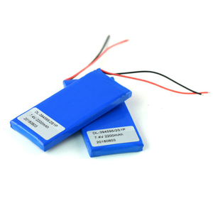 7.4V Ultra Thin Lipo Battery Pack for Electronics Products