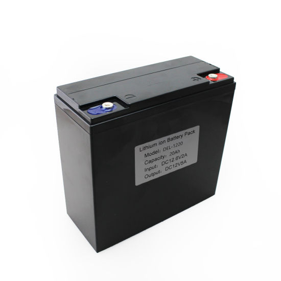 12V 20ah Rechargeable 18650 Li-ion Battery Pack for Solar System