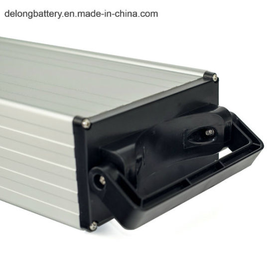Lithium Battery Ebike Battery Pack Rear Rack Type 48V 15ah