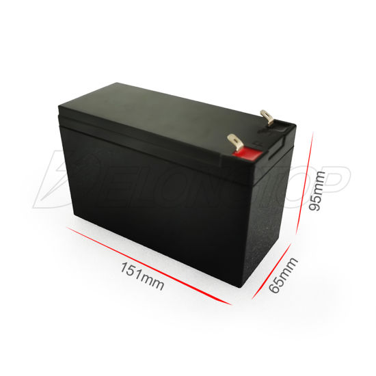 12 Volts Battery 12V 7ah Lithium Lead Acid Replacement Battery