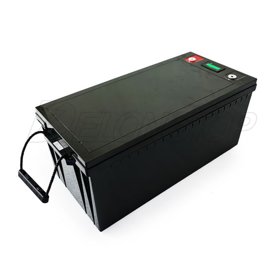 Long Life 2000 Cycle Times 12V 200ah Terminal Battery for Solar /UPS/ Telecom System