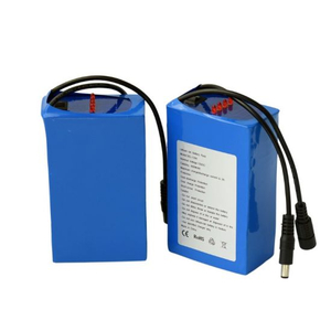 Factory Price Rechargeable 18650 Lithium Ion 12V 6600mAh Li Ion Battery Pack for LED Light Power Tools Batteries