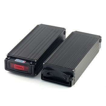 Rechargeable 36V 15ah Rear Rack Li-ion Lithium Battery Pack with Charger for 500W Electric Bike