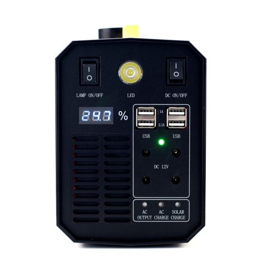 12V Storage Battery Portable Backup Power Supply Replacement AC DC